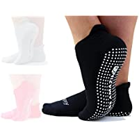 [Sponsored] Yoga Socks Barre Sock with Grip NonSkid Pilate Sox Maternity Labor Delivery Sock
