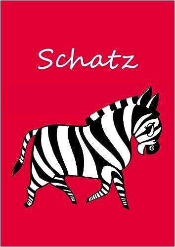 Malbuch / Notizbuch / Tagebuch - Schatz: DIN A4 - blanko ...