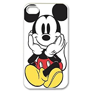 LSQDIY(R) Micky iPhone 4,4G,4S Plastic Case, Personalised iPhone 4,4G,4S Case Micky
