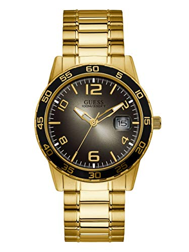 GUESS Men's Quartz Stainless Steel Watch, Color:Gold-Toned (Model: U1172G3)
