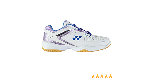 Yonex Mujer Power Cushion 35 Badminton Shoes Blanco//Morado 39