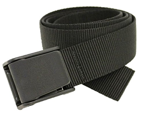 Big & Tall Titan Belt Made in USA by Thomas Bates (Black) (Big Tall Belt)