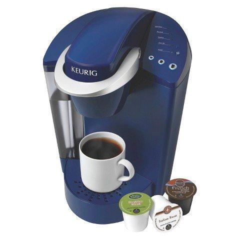 Keurig Elite K40 Single Serve Coffeemaker Brewing System Blue
