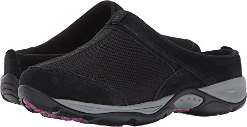 - Easy Spirit Women's Ezcool Black/Black Suede Shoe