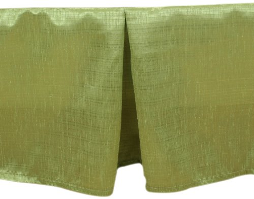 Brite Ideas Living Thai Olive Queen Bed Skirt, 14-Inch Drop by Brite Ideas Living