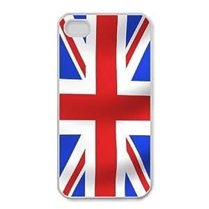 iphone4 4s Phone Case White Union Jack Flag ES3TY7835432