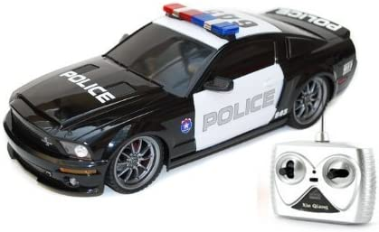 Ford Shelby GT500 Super Snake 1//18 Radio Control Police Car w// Light