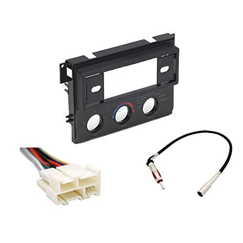 Chevy Corsica 1988-1990 Single DIN Stereo Radio Install Dash Kit w/AC