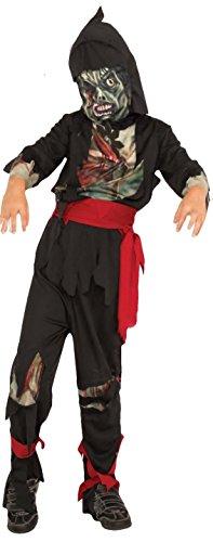 Rubies Costume Child's Zombie Ninja Costume, Medium, Multicolor - Ninja Zombie Costumes