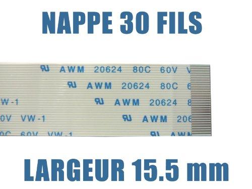 /ancho 15.5/mm////Para uso electr/ónico y//o /Longitud 200/mm/ /Plano Flexible//////30/hilos/ Kalea Informatique/ /tipo AWM/ / /FPC Ribbon Flex C Conectores ZIF
