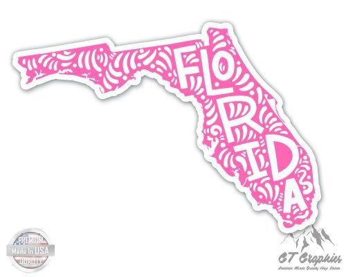 (Florida Shape Cute Letters Native Local - 5