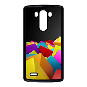 LG G3 Cell Phone Case Covers Black Abstract UD1372278