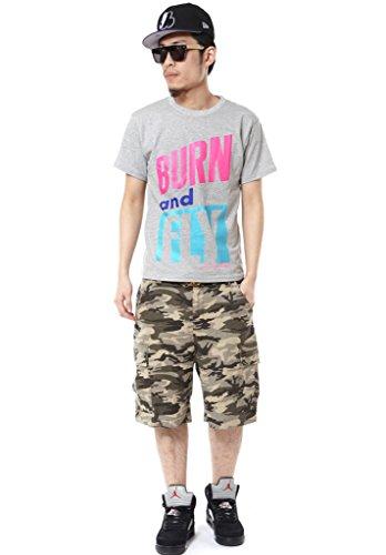 PIZOFF Unisex Hip Hop T Shirts Y0374-gray-M