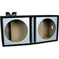 DEEJAY LED 2X15ROUND Double 15 Inch Vented Empty Box