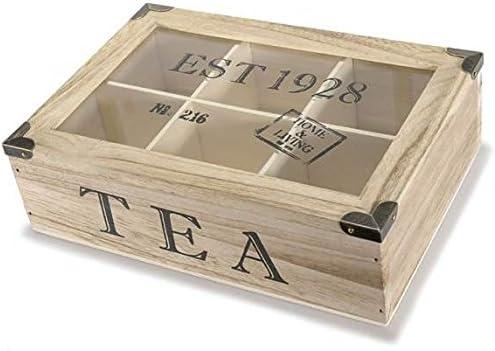 Idea Cajas de te Caja Puerta The, Caja para bolsitas The, idee Regalo