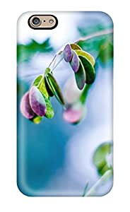 High-quality Durability Case For Iphone 6(splash Of Leaves)