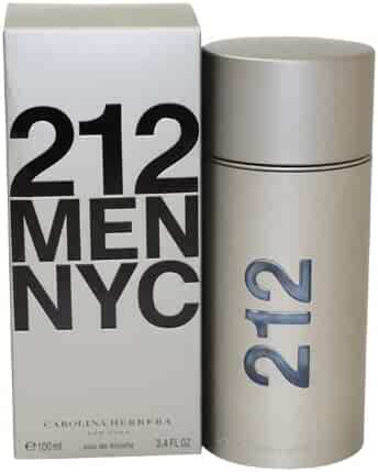 Carolina Herrera 212 By Carolina Herrera For Men. Eau De Toilette Spray 3.4-Ounces