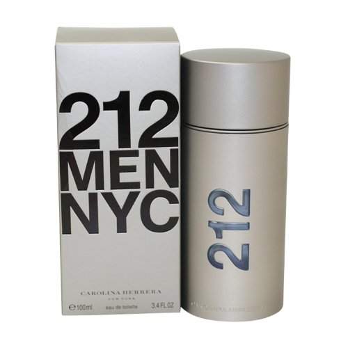 Carolina Herrera 212 By Carolina Herrera For Men. Eau De Toilette Spray 3.4-Ounces 99 Perfumes CA Dropship 57138