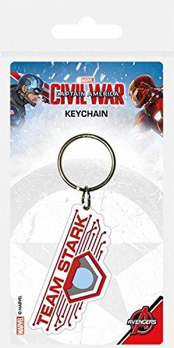 Capitán América - Civil War, Team Stark Llavero (6 x 4cm ...