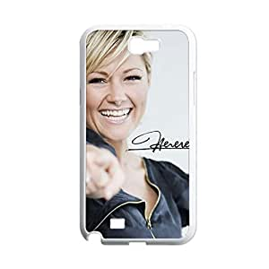 Generic For Samsung N7100 Proctecion Phone Case For Children Print With Helene Fischer Choose Design 2