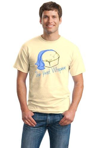 THE YEAST WHISPERER Unisex T-shirt / Funny Baking Humor, Cute Baker Tee