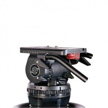 Sachtlerビデオ25 Plus Fb流体ヘッド(フラットベース)   B0743GFC3C