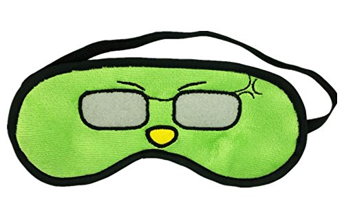 Funny Cartoon Face Silly Looking Soft Velvet Eye Sleep Mask Sleeping Eye Blinder Shade - Cartoon Shades