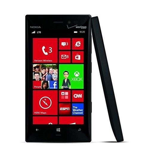 Nokia Lumia 928 32GB Unlocked GSM Windows Smartphone - Black (Certified Refurbished)