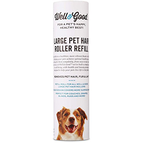 Well & Good Pet Hair Roller Refill, 50CT by Well & Good
