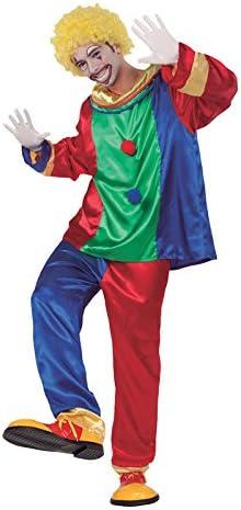 Fyasa 706302-t04 macho disfraz de payaso, grande: Amazon.es ...