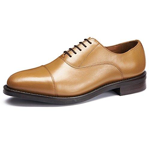928f1719a3e1 Samuel Windsor Men s Formal Shoe Handmade Rubber Soled Prestige Oxford  Goodyear Welted - Buy Online in UAE.