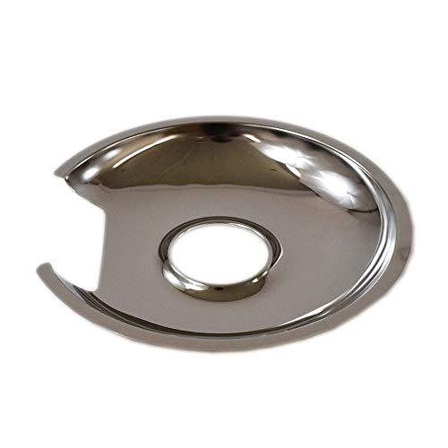 5300203632 Cooktop Drip Pan, 8-in (Chrome) Genuine Original Equipment Manufacturer (OEM) Part