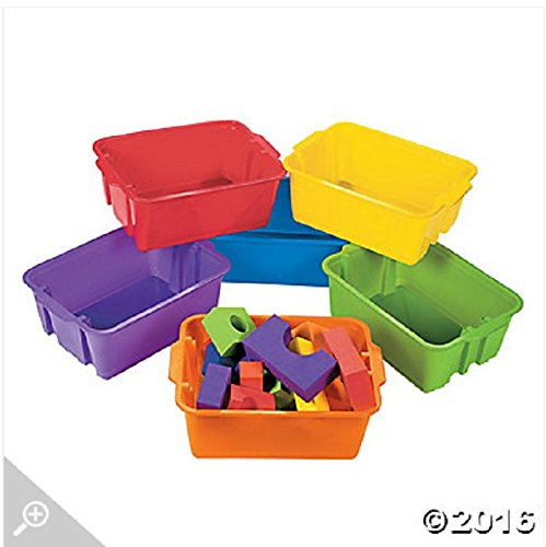 Classroom Storage Tubs by Fun Express