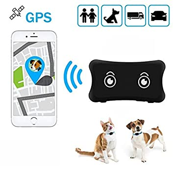 zhenyao Mini Pet GPS Tracker TK200 Impermeable IP66 Perros/Gatos GPS ...