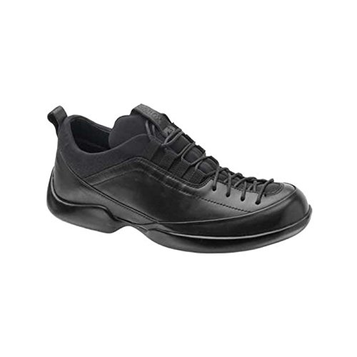 Aetrex Men's Lace-to-Toe Oxford,Black,13 W (Aetrex Black Oxford)