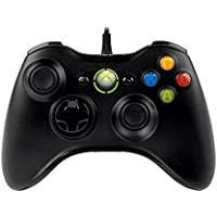 Xbox 360 Wired Controller, USB, Black, 52A-00005