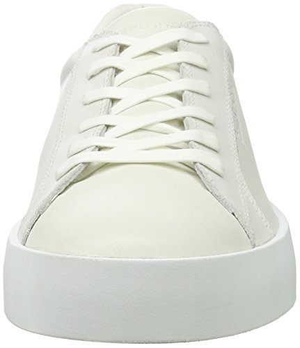 CRIME London Herren Dynamite Sneaker Weiß (Weiß)