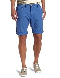 Zanerobe Men's Chuck Chino Short, Blue, 38