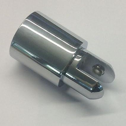 Cristal Soporte para techo/página Fijación sin Asidero para ducha ...