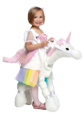 Toddler Plush Unicorn Rider Halloween -