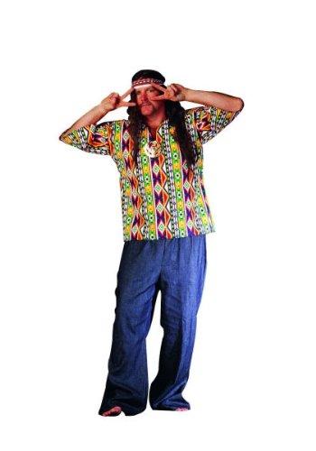 60s Hippie Plus Size Costumes (RG Costumes 60's Hippie Plus Size Costume)