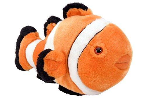 - Wild Republic CLOWN FISH 12`` Plush Cuddlekins Stuffed Animal Orange White NEW .HN#GG_634T6344 G134548TY50408