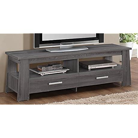 ACME Furniture 91725 Falan TV Stand Dark Gray