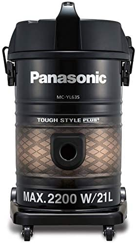 Panasonic MC-YL635T747 Electric Vacuum Cleaner, 2200W, Black
