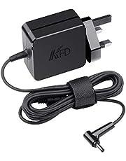 KFD 19V 2.37A Charger for ASUS VivoBook X540UA X540SA X540LA X541UA X553MA X556UA F540SA F541UA F553MA F556UA C202SA C300M C300SA X102B F102BA X542BA E403SA Zenbook UX21A UX31A TP300L Power Supply 45W