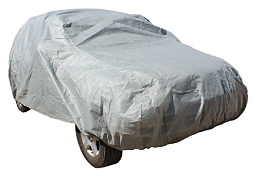 "ABN Fabric SUV Van Cover Non-Woven 200"" x 76"" x 65"", Semi Custom Universal Fit, Weather Resistant in Gray ABN SUV Covers"