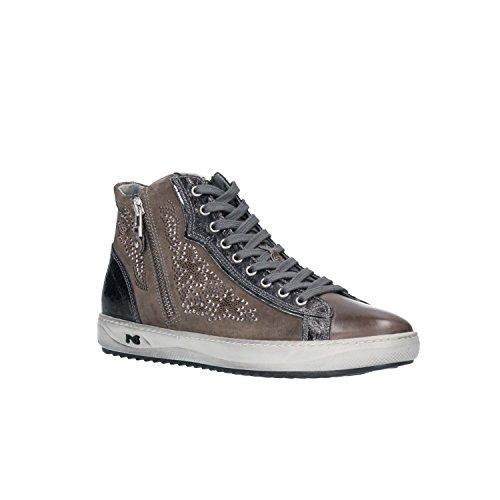 à pour de Ville Nero Femme Giardini Chaussures Gris A806471D Gris Lacets wx6wPp0