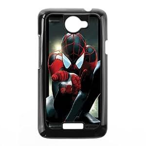 HTC One X Cell Phone Case Black Superhero Captain America, Spider Man, Iron Man, Wolverine, ant man, Green Arrow, Batman, Joker Logo 73 Ycyaw