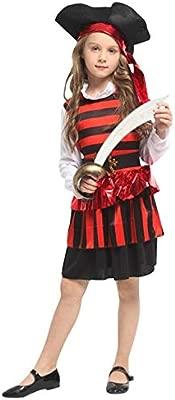 lkouq Halloween Pirata del Caribe Capitán Jack Sparrow Tricornio ...