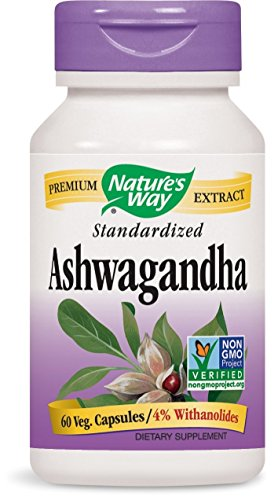 Nature's Way Ashwagandha, 60 Vcaps